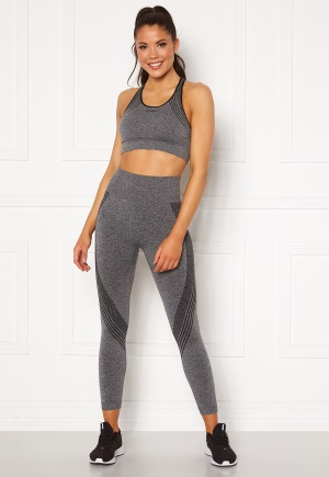 2XU Engineered Tight CHM/BLK Dark Heather L