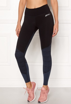 2XU Fitness MidRise Tights Blk/Oss L