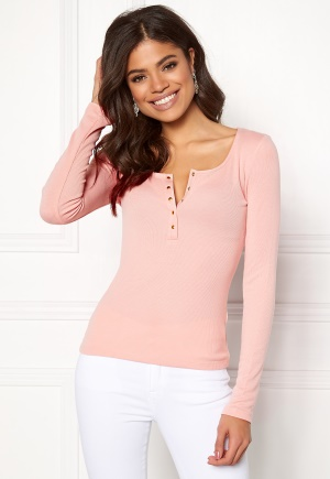 Image of 77thFLEA Audrey button top Dusty pink XL