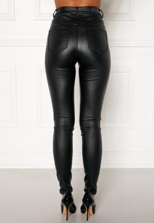 77thFLEA Bianca coated jeans Black XL