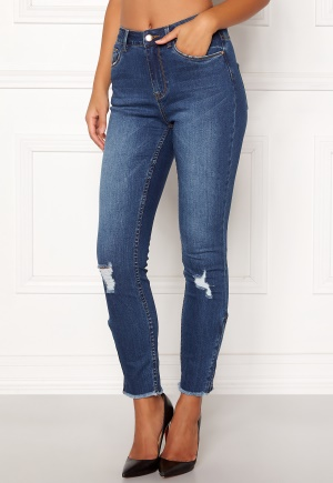 Bilde av 77thflea Laurel Hw Zip Jeans Medium Blue 34