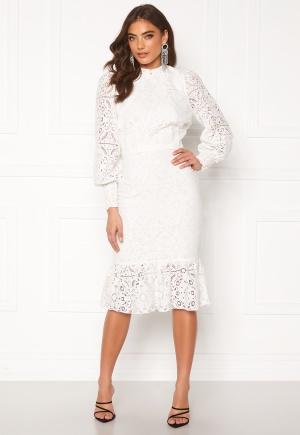 Alexandra Nilsson X Bubbleroom Lace flounce skirt White 44