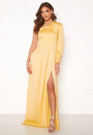 Alexandra Nilsson X Bubbleroom One sleeve gown Yellow 38