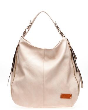 ALPINI Handväska, Lorna Ljust beige One size