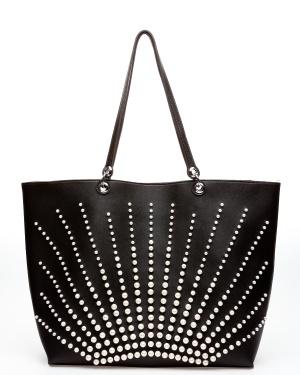 ALPINI Shopper, Pearl Svart One size
