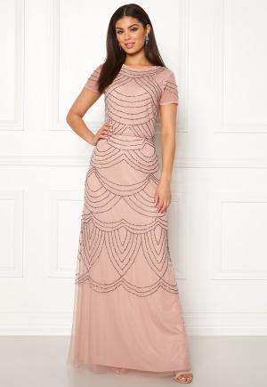 AngelEye Decorative Sequin Dress Cameo Rose S (UK10)