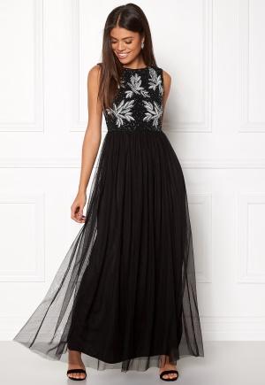 Bilde av Angeleye Sequin Bodice Maxi Dress Black S (uk10)