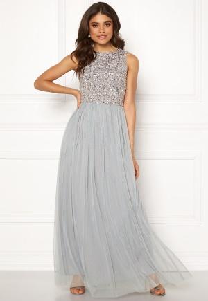 Bilde av Angeleye Sleeveless Bodice Dress Light Grey Xl (uk16)