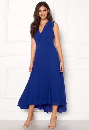 AngelEye Sleeveless Wrap Dress Blue XS (UK8)