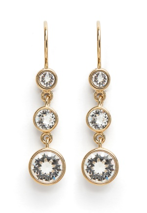 Dyrberg/Kern Anya Earrings White One size