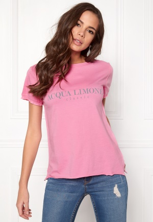 Acqua Limone Classic Tee Hot Pink L