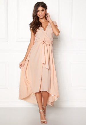 AX Paris Cap Waterfall Dress Nude S (UK10)