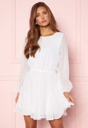 Image of AX Paris Flippy Skater Dress White XS (UK8)