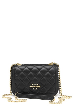 Love Moschino Bag With Chain 00B Black/Gold One size