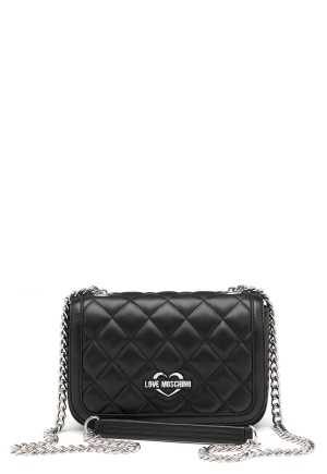 Love Moschino Bag With Chain 000 Black One size