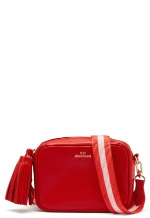 Becksøndergaard Lullo Rua Leather Bag Flame Scarlet One size