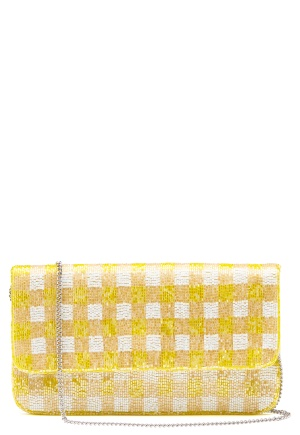 Becksøndergaard Tipo Check Bag Yellow One size