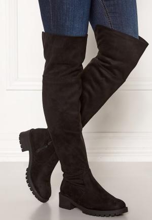 Bianco Claire Overknee Boots 101 Black 39