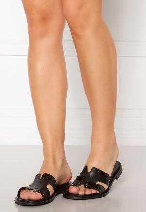 Bianco Darla Leather Sandal 100 Black 39