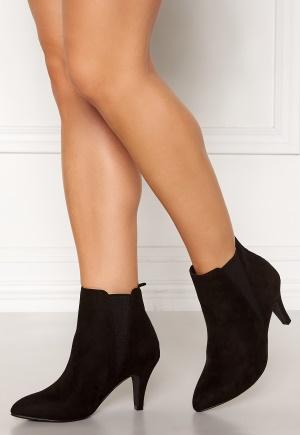 Bianco Nur V Split Chelsea Boots 101 Black Bubbleroom