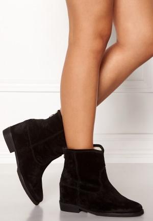 Billi Bi Black Suede Boots Black 40