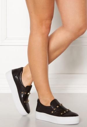 Billi Bi Buffalo Leather Shoes 802 Black/Gold 38