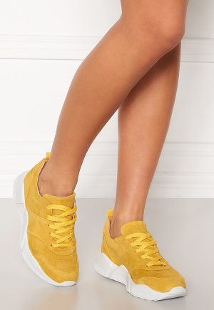 Billi Bi Chunky Sneakers Yellow 1795 Suede 55 36