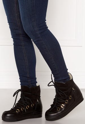 Billi Bi Wedge Boots Black/Gold 41