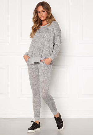Blue Vanilla Crew Neck Sweatshirt Jogger Set Grey L (UK14)