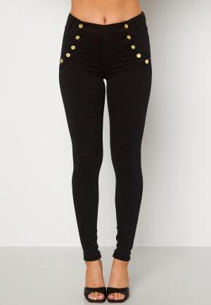BUBBLEROOM Adina highwaist jeans Black 34