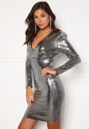 BUBBLEROOM Amorette Dress Silver 36