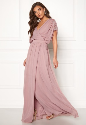 BUBBLEROOM Aubrey gown Dusty pink 36