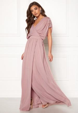 BUBBLEROOM Aubrey gown Dusty pink 34