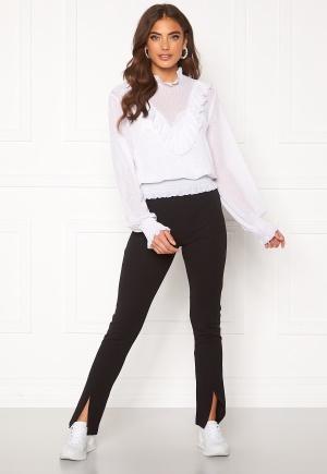 BUBBLEROOM Bonita slit leggings Black L