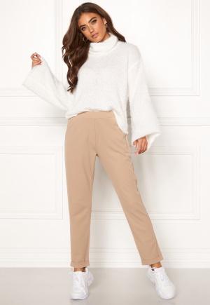 BUBBLEROOM Bonita soft suit pant Light nougat XS