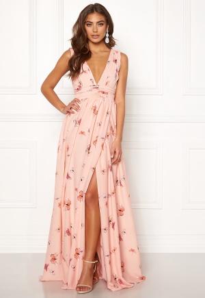 BUBBLEROOM Carolina Gynning Butterfly gown Light pink / Patterned 42