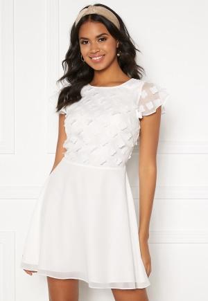 BUBBLEROOM Fioli flower dress White 40