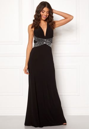 BUBBLEROOM Linnea embellished dress Black / Silver 34