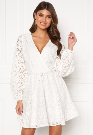 BUBBLEROOM Lykke lace dress White 36