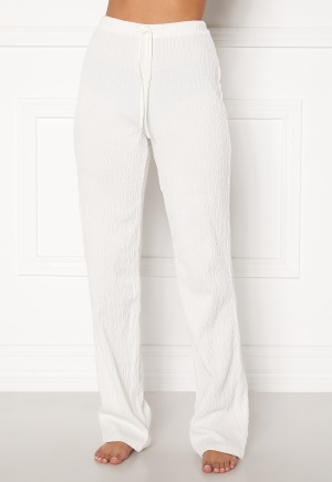 BUBBLEROOM Lynne soft pyjama pants  White XL