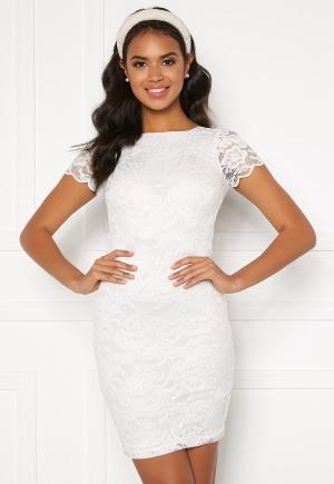 BUBBLEROOM Marjo lace dress White XL