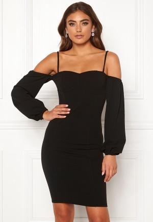 Moa Mattsson X Bubbleroom Balloon sleeve dress Black 34