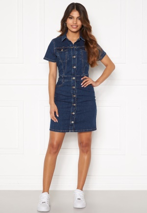 BUBBLEROOM Odina denim dress Medium denim 36