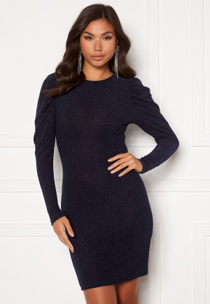 BUBBLEROOM Penny Sparkling Dress Dark blue 34