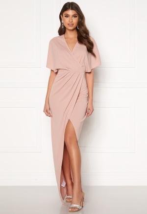 BUBBLEROOM Selena maxi dress Dusty pink 36