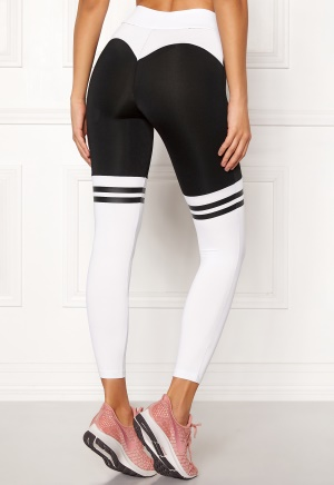 BUBBLEROOM SPORT Excite Sport Tights Black / White XL