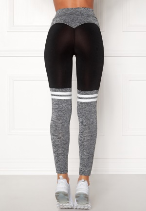 BUBBLEROOM SPORT Excite Sport Tights Black / Grey S
