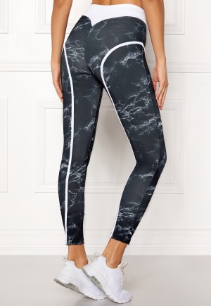 BUBBLEROOM SPORT Thrust sport tights Patterned XS