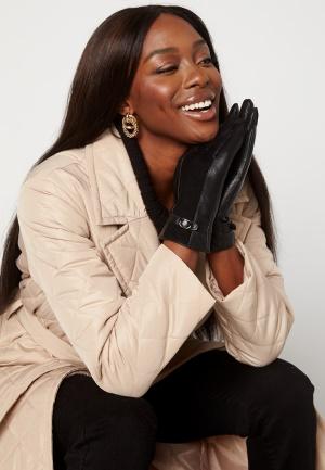 BUBBLEROOM Valorie leather gloves Black M