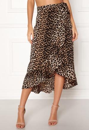 BUBBLEROOM Villima midi skirt Leopard 40